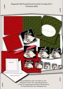 Diagonal Fold Pyramid Card & Envelope Kit 6