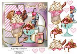 Sugar High Card Topper 1