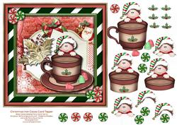Christmas Hot Cocoa Card Topper