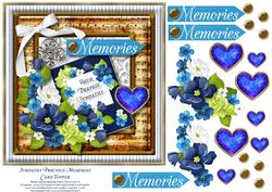 Sympathy Precious Memories Card Topper 1