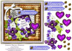 Sympathy Precious Memories Card Topper 2