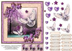 Cherry Blossoms & Doves Card Topper 2