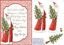 A Very Merry Christmas Step by Step Card