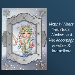 Hope in Winter Push to Beau Card Kit