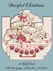 Purrfect Christmas 3D Shelf Card Kit