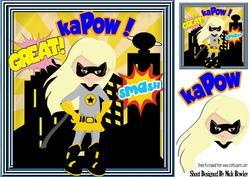 Super Girl, Super Hero Kapow! 8x8