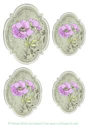 Anemone Toppers/tags