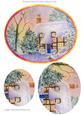 Cottage in Snow Step by Step Decoupage