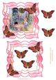 Doing the Gardening Topper with Butterflies Decoupage