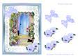 Watercolour Cottage Garden 2 Decoupage Sheet