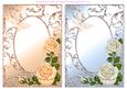 Roses and Butterflies Card Fronts Set 5