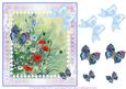 Daisies, Poppies and Butterflies Decoupage Step by Step