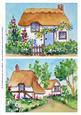 2 Cottages Original Watercolour Paintings