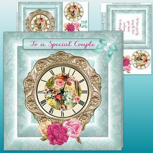 Ornate Vintage Clock Mint