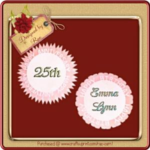 501 2 Event Toppers *SVG*