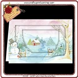 728 Christmas Snowman Kit *PDF & Jpg*