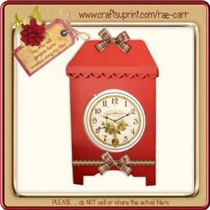 733 Clock Box *multiple Machine Formats*