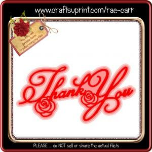 827 Thank You Topper *studio*