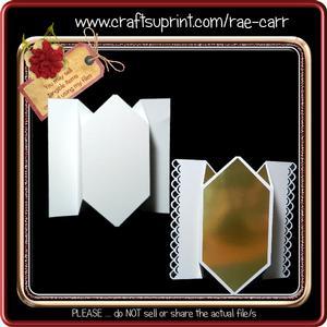 832 Center Fold Pop Out *multiple Machine Formats*