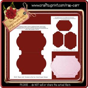 T032 Shaped Card Template *png*