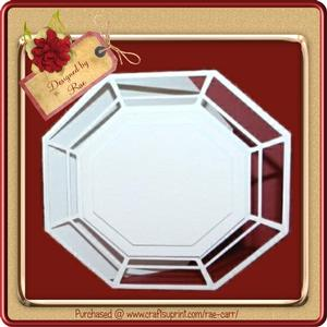 369 Fancy Octagon Card *studio*
