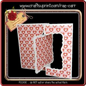 875 Bracket Fold Back Card *multiple Machine Formats*