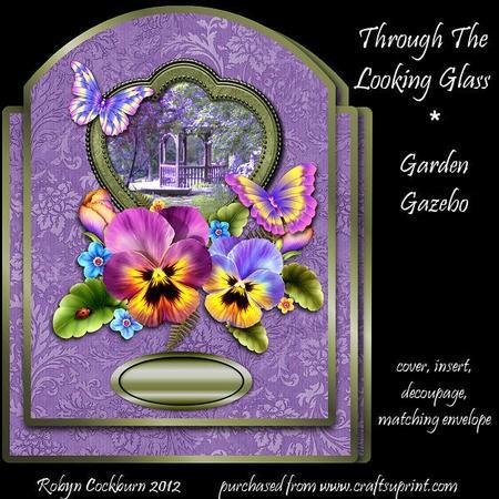 Through the Looking Glass - Garden Gazebo