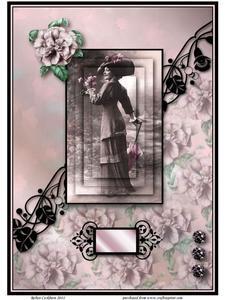 A Garden Stroll - A4 & A5 Card Kit
