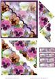 Pansy Collection Wavey Corner Stacker