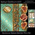 Opulence Roses Border Mini Kit