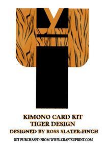 Kimono Card Kit - Tiger