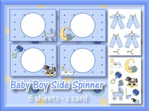 Baby Boy Side Spinner