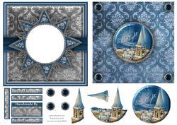 Silent Night 6x6 Aperture Card