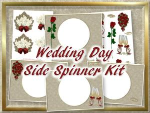 Wedding Day Side Spinner Kit