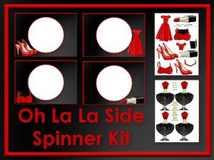 Oh La La Side Spinner