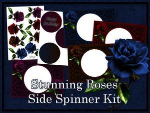 Stunning Roses Side Spinner Kit