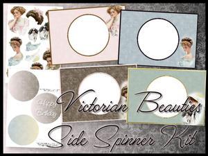 Victorian Beauties Side Spinner Kit