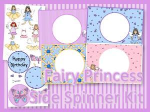Fairy Princess Side Spinner Kit