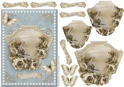 Roses Pyramage Card