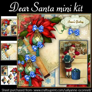 Dear Santa Mini Kit