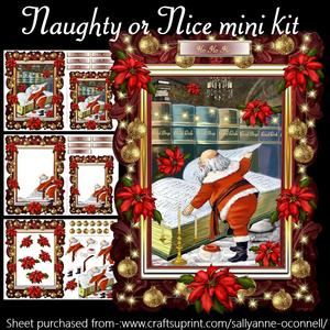 Naughty or Nice Mini Kit