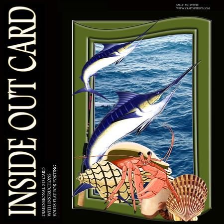 Inside Out Card Gone Fishing