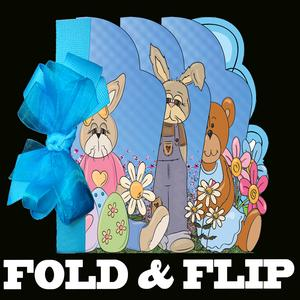 Fold and Flip Easter Card