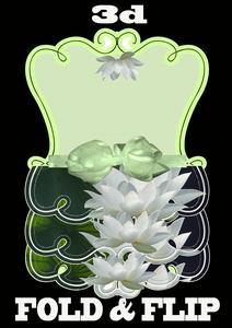 Fold & Flip 3dwater Lilies
