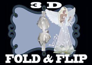 Fold and Flip 3D Angel Beauty