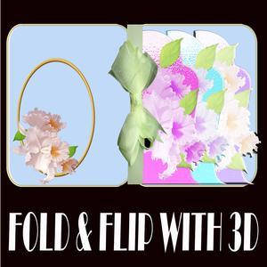 Fold and Flip Orchids Special Card