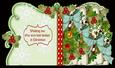 All About Christmas 4 Leaf Card with Extra Sentiments and Co