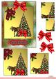 Pyramid of Christmas with 3D Bow Merry Christmas