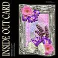 Inside Out Card Lavender and Camelia