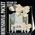3D Dimensional Stand Up Pocket Card